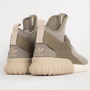Adidas Originals Tubular Knit Sesame/Clay